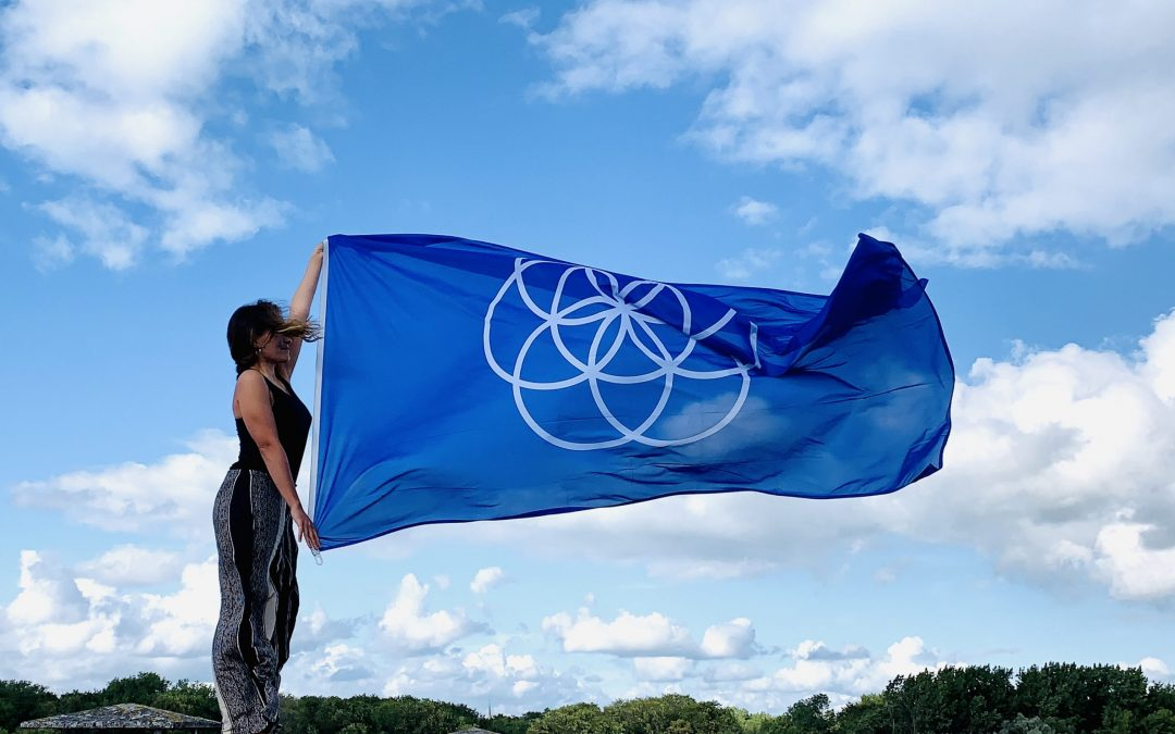 Earth Flag Infinity